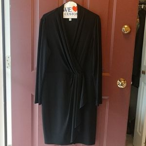Donna Morgan long sleeve dress.